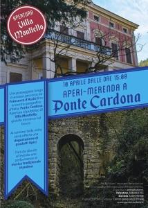 10 Aprile Aperi-merenda a Ponte Cardona