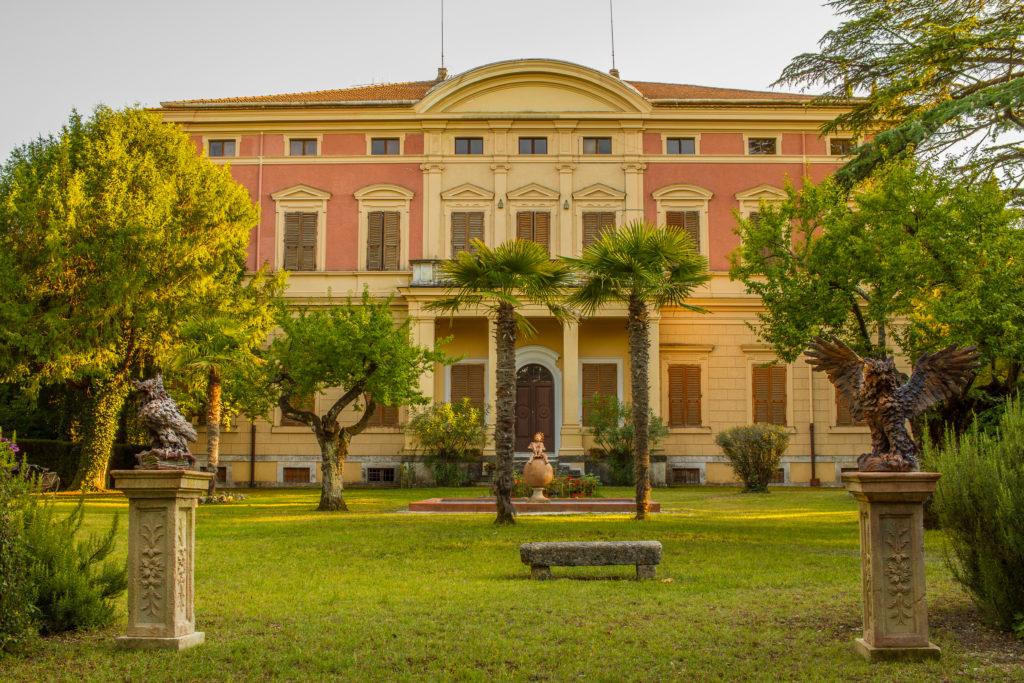 Villa Montiello Narni centro geografico d'Italia